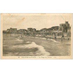 carte postale ancienne 34 PALAVAS-LES-FLOTS. Plage Casino 1931