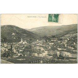 carte postale ancienne 34 SAINT-PONS. Vue