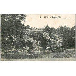 carte postale ancienne 34 SETE CETTE. Château d'Eau Cascade et Grottes 1905