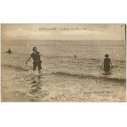 carte postale ancienne 34 SETE CETTE. Les Baigneuses