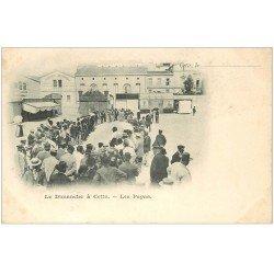 carte postale ancienne 34 SETE CETTE. Les Papas 1901