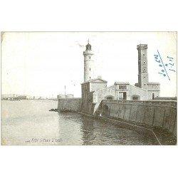 carte postale ancienne 34 SETE CETTE. Phare Saint-Louis