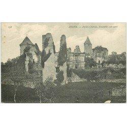carte postale ancienne 46 ASSIER. Château
