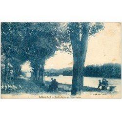 carte postale ancienne 46 ASSIER. Les Promenades 1927