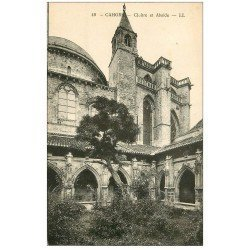 carte postale ancienne 46 CAHORS. Cloître et Abside