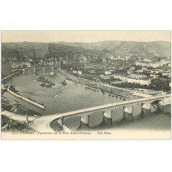 carte postale ancienne 46 CAHORS. Le Pont Louis-Philippe