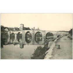 carte postale ancienne 46 CAHORS. Le Pont Valentré n°60
