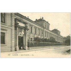 carte postale ancienne 46 CAHORS. Lycée Gambetta Hôpital temporaire
