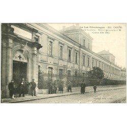 carte postale ancienne 46 CAHORS. Lycée Gambetta Hôpital temporaire 1916