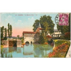 carte postale ancienne 46 CAHORS. Moulin Coty 1934