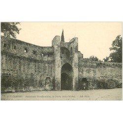 carte postale ancienne 46 CAHORS. Porte Saint-Michel