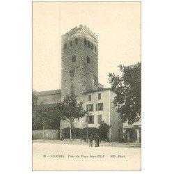 carte postale ancienne 46 CAHORS. Tour du Pape Jean XXII