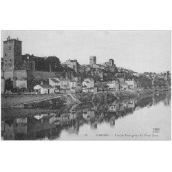 carte postale ancienne 46 CAHORS. Vue de l'Est