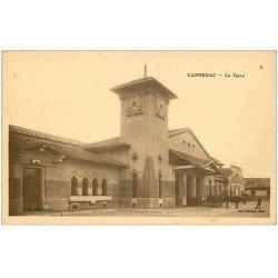 carte postale ancienne 46 CAPDENAC. La Gare