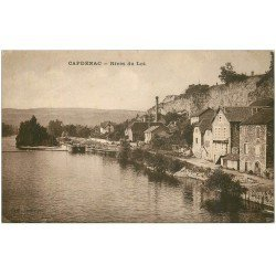 carte postale ancienne 46 CAPDENAC. Rives du Lot