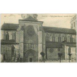 carte postale ancienne 46 FIGEAC. Eglise Saint-Sauveur