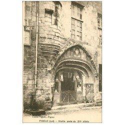 carte postale ancienne 46 FIGEAC. Vieille Porte