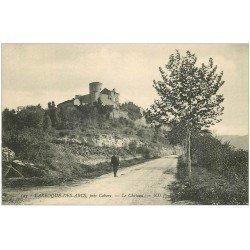 carte postale ancienne 46 LARROQUE-DES-ARCS. Le Château
