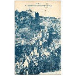 carte postale ancienne 46 ROCAMADOUR. 1923