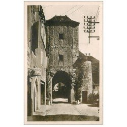 carte postale ancienne 46 ROCAMADOUR. Boulangerie Porte Salmon