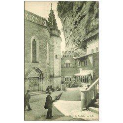 carte postale ancienne 46 ROCAMADOUR. Chapelle Saint-Jean. Timbrée mais non envoyée