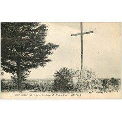 carte postale ancienne 46 ROCAMADOUR. Croix de Jérusalem