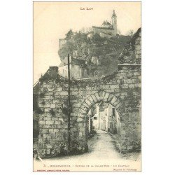 carte postale ancienne 46 ROCAMADOUR. Grand'Rue