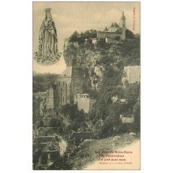 carte postale ancienne 46 ROCAMADOUR. Notre-Dame 1913