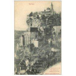 carte postale ancienne 46 ROCAMADOUR. Vue générale