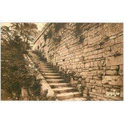 carte postale ancienne 17 BROUAGE. Escalier Marie de Mancini. Aigues-Mortes de la Saintonge. Editions Bergevin