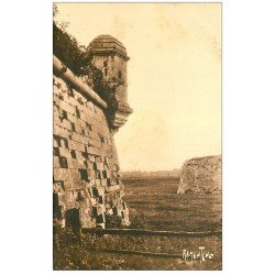carte postale ancienne 17 BROUAGE. Fortifications. Aunis et Saintonge. Editions Bergevin