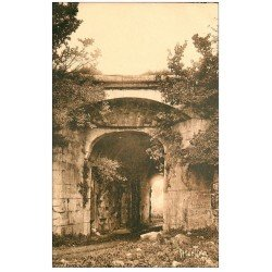 carte postale ancienne 17 BROUAGE. Porte nord enceinte. Aunis et Saintonge. Editions Bergevin