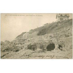 carte postale ancienne 17 BUREAU. Les Pierrères vers 1900...