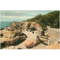 carte postale ancienne 17 BUREAU-SAINT-PALAIS. Le Pont de la Corniche 1924