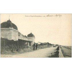 carte postale ancienne 17 CHATELAILLON. Casino et Plage 1908
