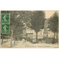 carte postale ancienne 17 CHATELAILLON. Monument des Combattants 1916