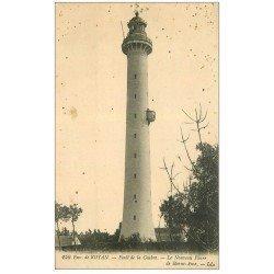 carte postale ancienne 17 FORET DE LA COUBRE. Le Phare de Bonne-Anse 1918
