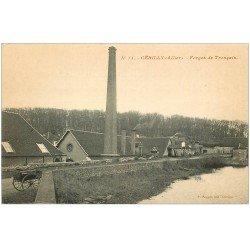 carte postale ancienne 03 CERILLY. Forges de Tronçais