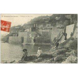 carte postale ancienne 17 FOURAS-LES-BAINS. Falaises ou Bois vert vers 1909