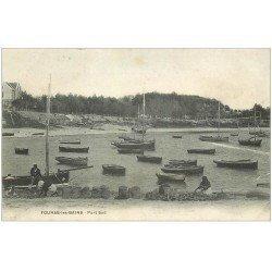 carte postale ancienne 17 FOURAS-LES-BAINS. Le Port Sud . Déchargement et triage des Huîtres