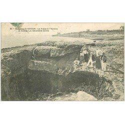 carte postale ancienne 17 GRANDE COTE. Le Puits de l'Auture 1907