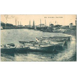 carte postale ancienne 17 ILE DE RE. Port d'Ars 1927