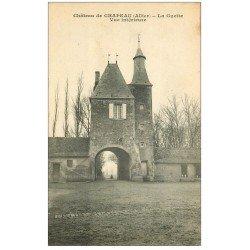 carte postale ancienne 03 CHAPEAU. La Guette du Château