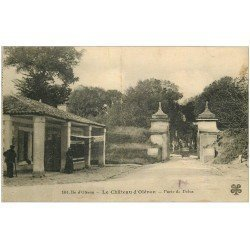 carte postale ancienne 17 ILE D'OLERON. Le Château Porte Dolus (Pli transversal)...