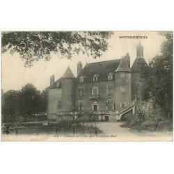 carte postale ancienne 03 Château de Frêne près Neuilly-le-Réal 1916 (pli coin gauche)...