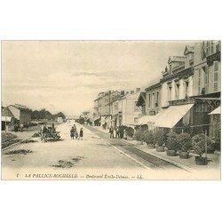 carte postale ancienne 17 LA PALLICE-ROCHELLE. Boulevard Emile-Delmas Restaurant de l'Univers