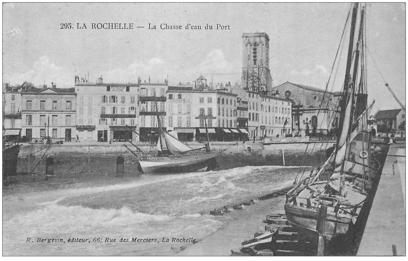 17 la rochelle la chasse d 39 eau du port 1915. Black Bedroom Furniture Sets. Home Design Ideas