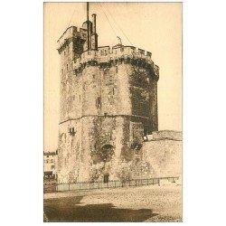 carte postale ancienne 17 LA ROCHELLE. La Tour Saint-Nicolas.