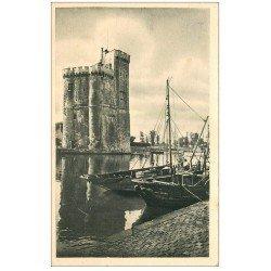carte postale ancienne 17 LA ROCHELLE. La Tour Saint-Nicolas. 1946