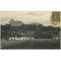 carte postale ancienne 03 CHAZEUIL. Le Château 1911